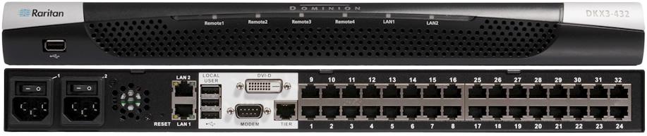 Dominion KXIII vs KXII KVM Switch