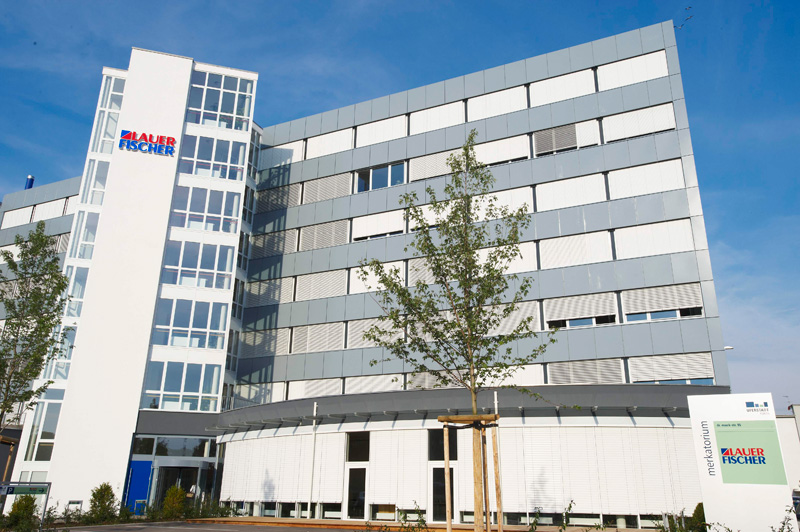 The office of LAUER-FISCHER GmbH in Fürth, Germany