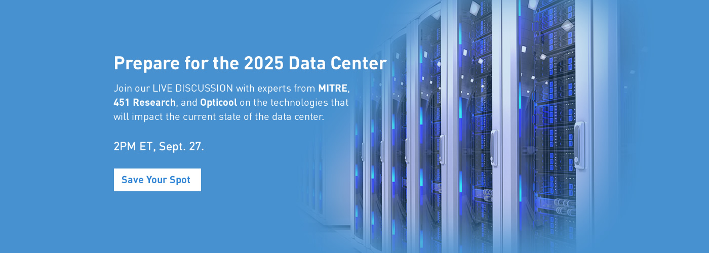 451 Webinar - Data Center of the Future