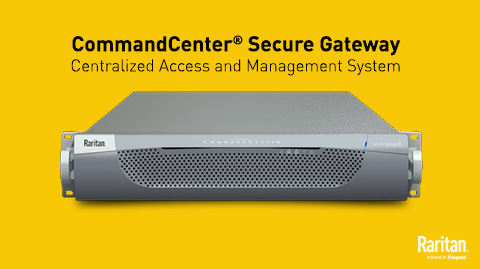 The CommandCenter Secure Gateway — Centralized Server Management
