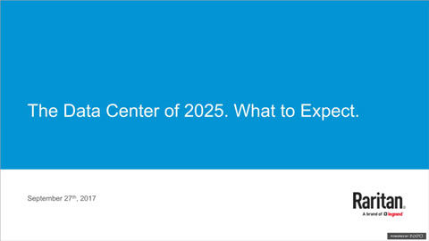 The Data Center in 2025. What to Expect.