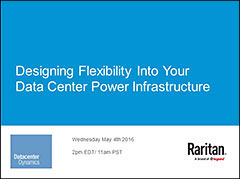 Designing Flexibility Into Your Data Center Power Infrastructure